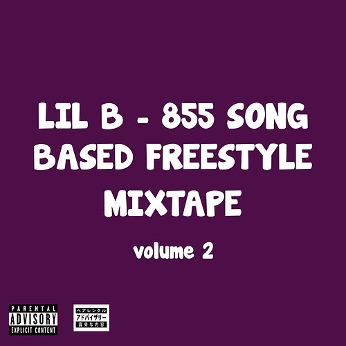 855 Song Based Freestyle Mixtape, Vol. 2 by Lil'B