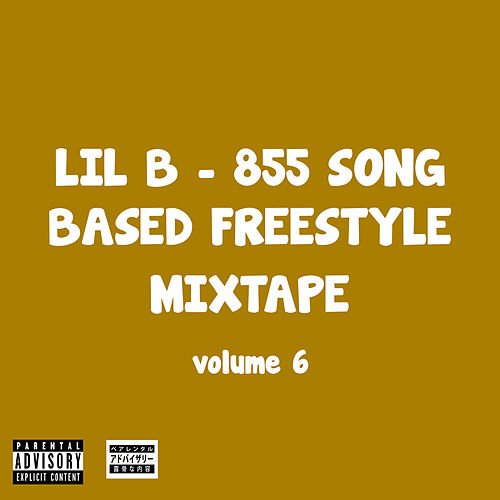 855 Song Based Freestyle Mixtape, Vol. 6 by Lil B