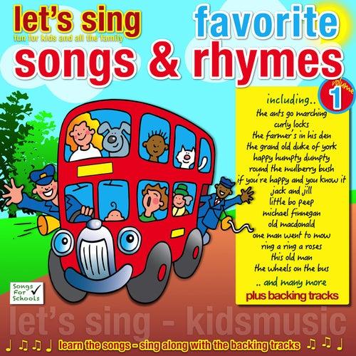 Let's Sing Favorite Songs & Rhymes, Vol. 1 by Kidzone