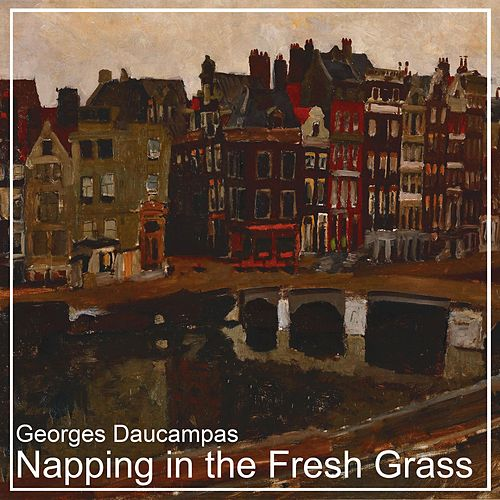Napping in the Fresh Grass von Georges Daucampas