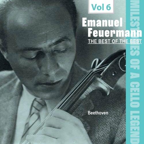 Milestones of a Cello Legend: The Best of the Best - Emanuel Feuermann, Vol. 6 de Emanuel Feuermann