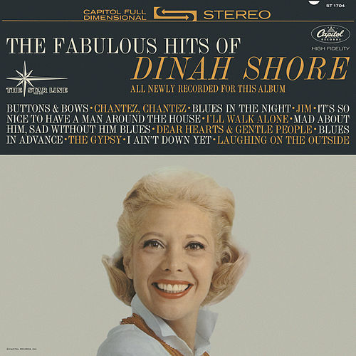 The Fabulous Hits Of Dinah Shore by Dinah Shore
