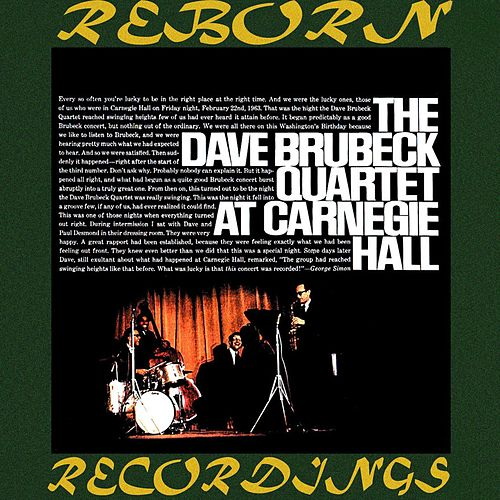 The Dave Brubeck Quartet at Carnegie Hall (HD Remastered) by Dave Brubeck
