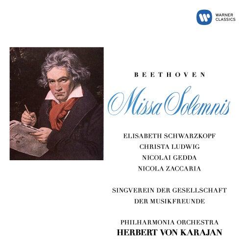 Beethoven: Missa solemnis, Op. 123 van Herbert Von Karajan