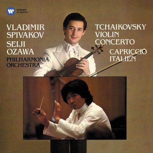 Tchaikovsky: Violin Concerto, Op. 35 & Capriccio italien, Op. 45 by Seiji Ozawa