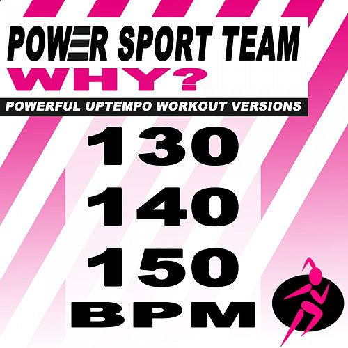 Why? (Powerful Uptempo Cardio, Fitness, Crossfit & Aerobics Workout Versions) von Power Sport Team