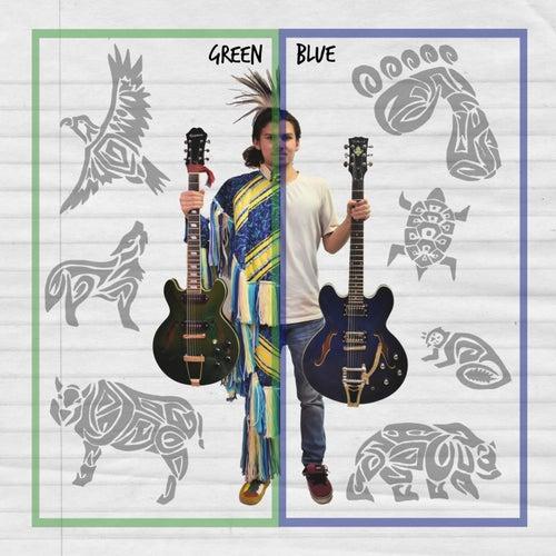 Green Blue von Mitchell Mozdzen