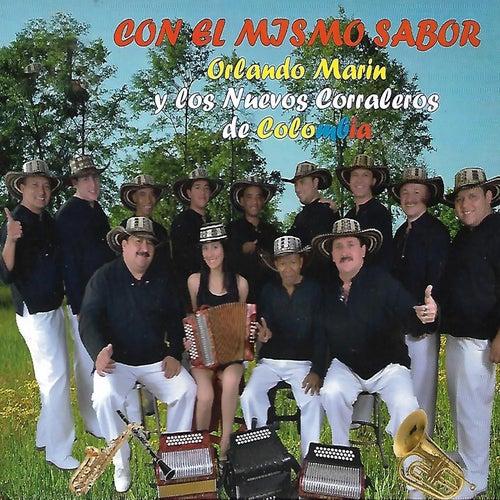 Con el Mismo Sabor de Orlando Marín y Los Nuevos Corraleros De Colombia