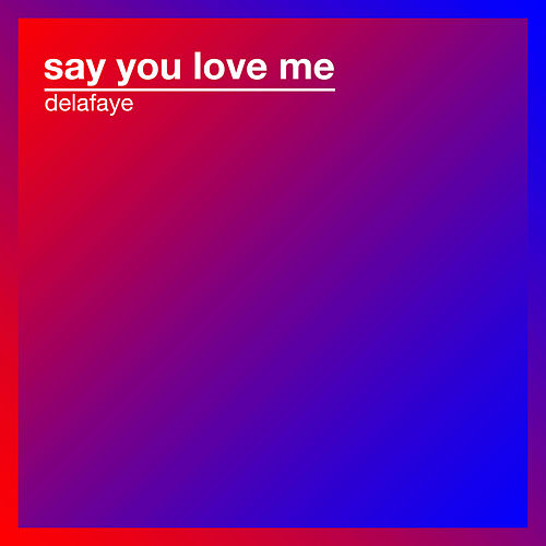 Say You Love Me by Delafaye
