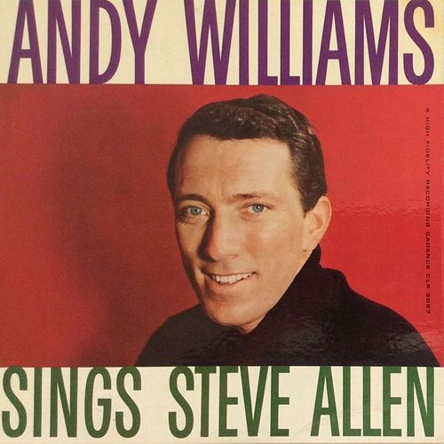 Andy Williams Sings Steve Allen by Andy Williams