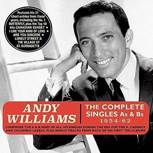 The Cadence Singles, a & B Sides von Andy Williams