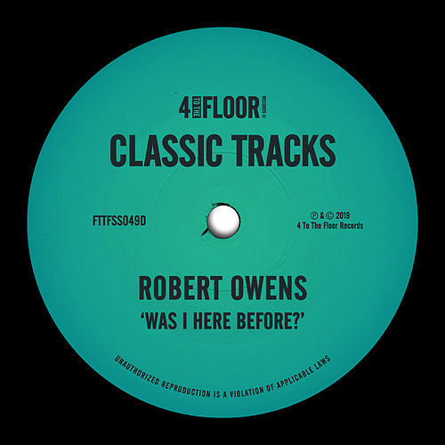Was I Here Before? de Robert Owens