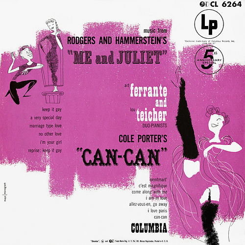 Music from 'Me And Juliet' and 'Can-Can' by Ferrante and Teicher
