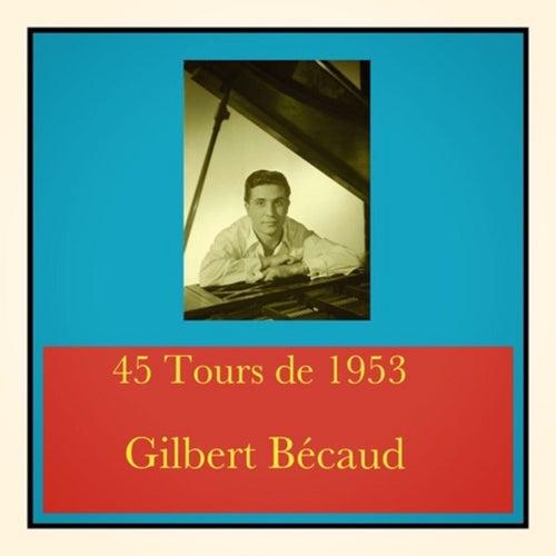 45 Tours De 1953 von Gilbert Becaud
