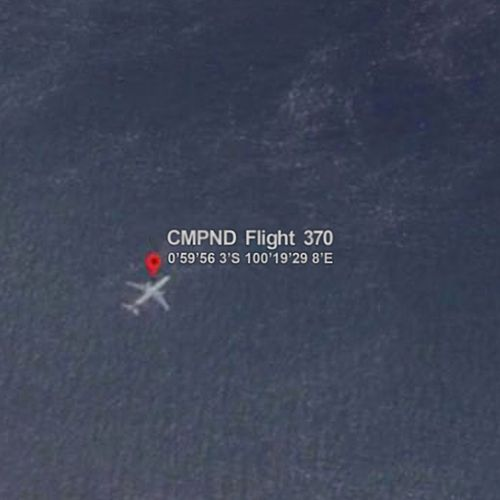 Flight 370 by Cmpnd