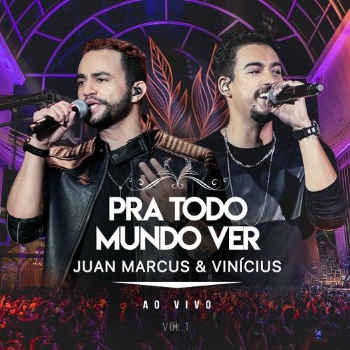 Pra Todo Mundo Ver (Ao Vivo Em São Paulo / 2019 / Vol. 1) by Juan Marcus & Vinícius
