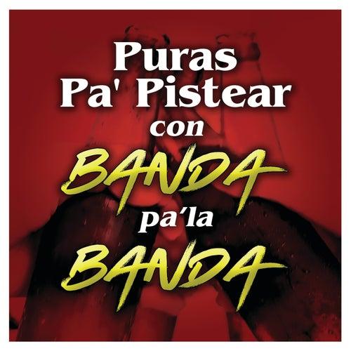 Puras Pa' Pistear Con Banda Pa' La Banda de Various Artists