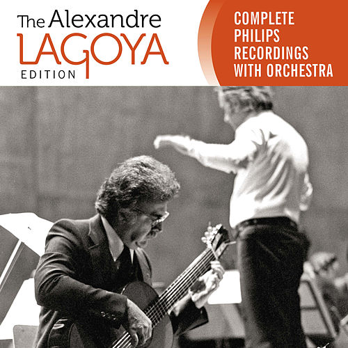 The Alexandre Lagoya Edition - Complete Philips Recordings With Orchestra by Alexandre Lagoya