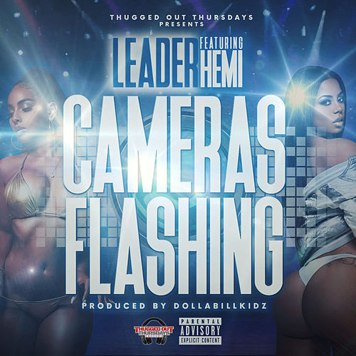 Cameras Flashing by Leader