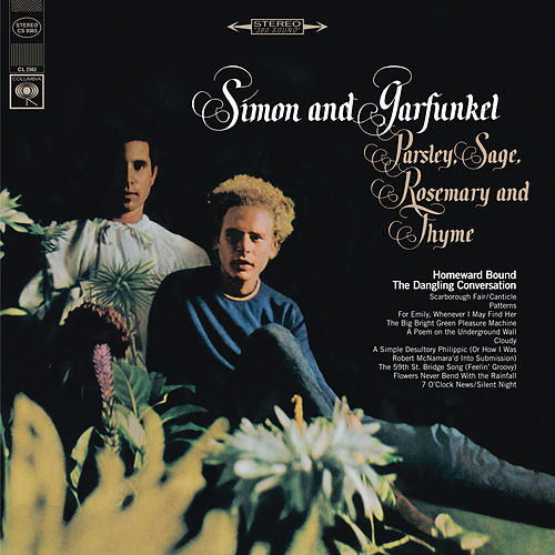 Parsley, Sage, Rosemary And Thyme fra Simon & Garfunkel
