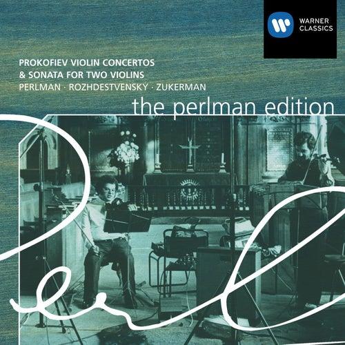 Prokofiev: Violin Concertos / Sonata for 2 Violins by Itzhak Perlman