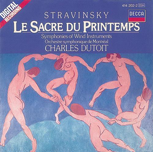 Stravinsky: The Rite of Spring/Symphonies of Wind Instruments von Orchestre Symphonique de Montréal