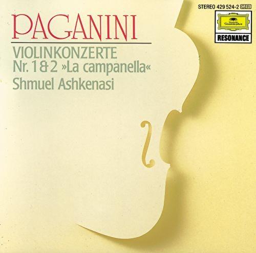 Paganini: Concertos for Violin and Orchestra Nos. 1 & 2 von Shmuel Ashkenasi