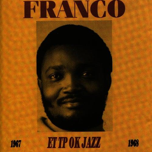 Franco & Le T.P OK Jazz : 1967/1968 de Various Artists