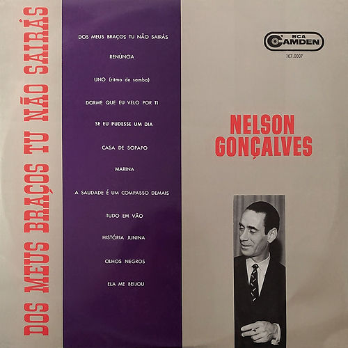 Dos Meus Braços Tu Não Sairás von Nelson Gonçalves