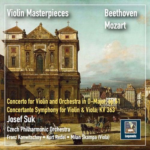 Violin Masterpieces: Josef Suk Plays Beethoven & Mozart (2019 Remaster) von Josef Suk