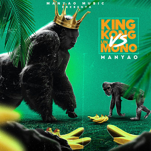 King Kong vs Un Mono by Manyao