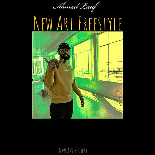 New Art Freestyle von Ahmad Latif
