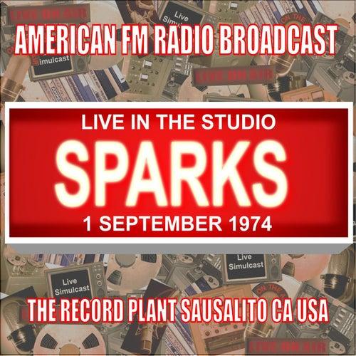 Live In The Studio - The Record Plant, Sausalito CA  1974 de Sparks