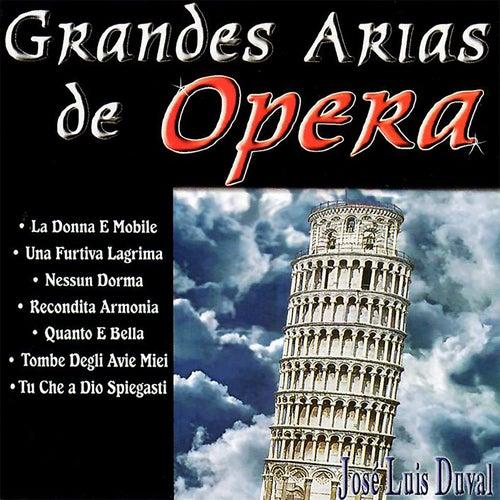 Grandes Arias de Opera van José Luis Duval