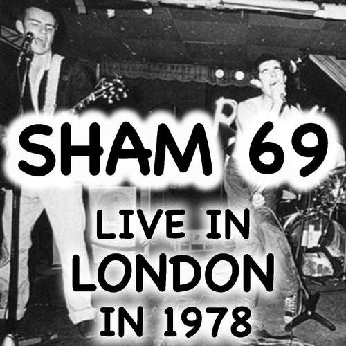 Live In London Sham 69 In 1978 von Sham 69