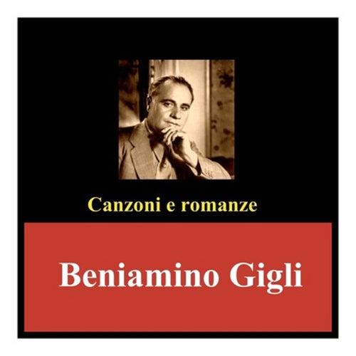 Canzoni e romanze de Beniamino Gigli