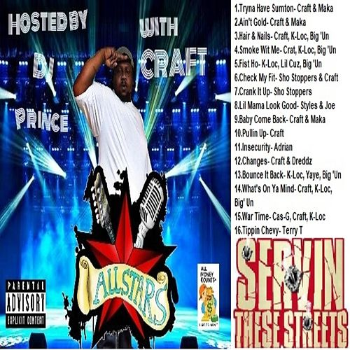 The All-Stars (Hosted by DJ Prince) by Various Artists