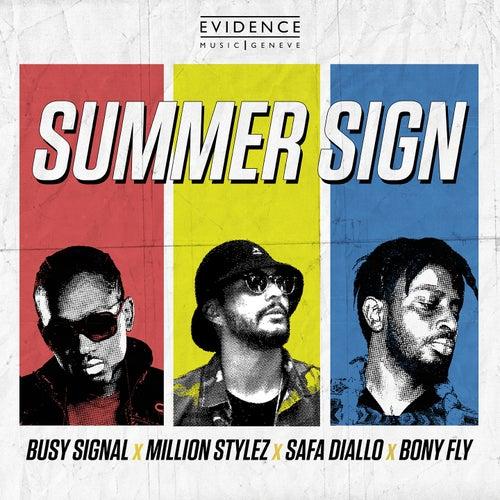 Summer Sign by Busy Signal, Million Stylez, Safa Diallo, Bony Fly