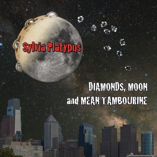 Diamonds, Moon and Mean Tambourine von Sylvia Platypus