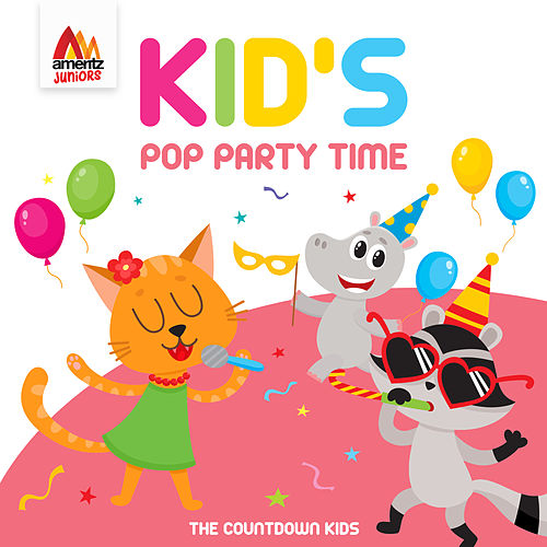 Kid's Pop Party Time de The Countdown Kids