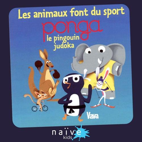 Les animaux font du sport (Ponga, le pingouin judoka) by Vava
