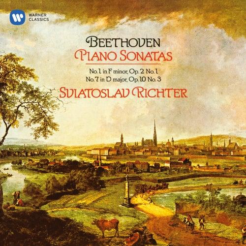 Beethoven: Piano Sonatas Nos 1 & 7 de Sviatoslav Richter