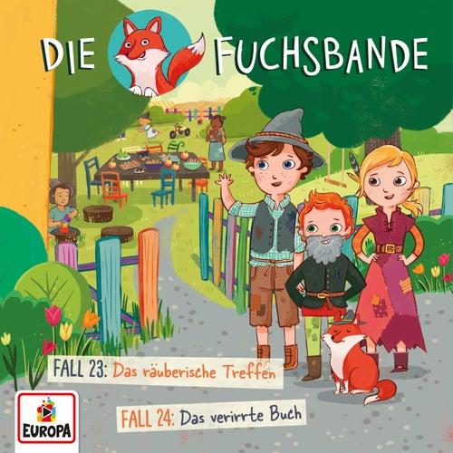012/Fall 23: Das räuberische Treffen / Fall 24: Das verirrte Buch von Die Fuchsbande