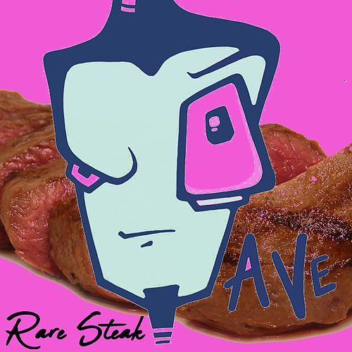 Rare Steak von Dave