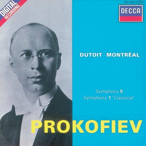 Prokofiev: Symphonies Nos. 1 & 5 fra Orchestre Symphonique de Montréal