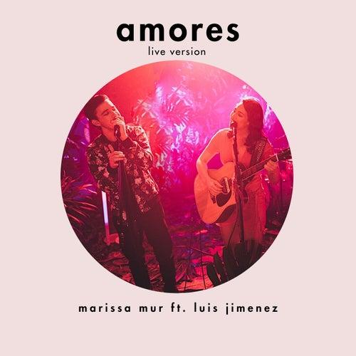 Amores (Live) de Marissa Mur