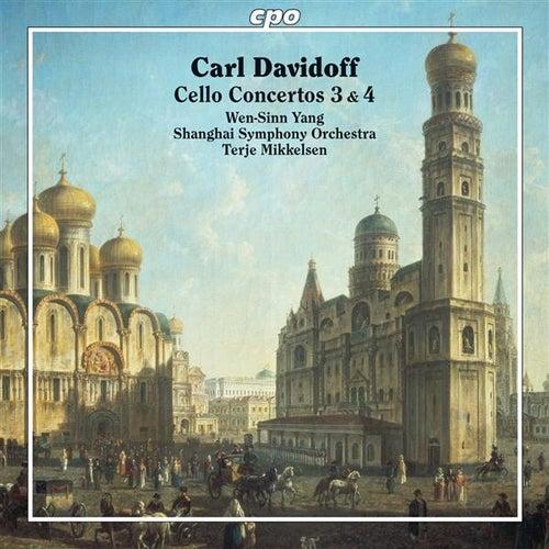 Davidoff: Cello Concertos Nos. 3 & 4 von Wen-Sinn Yang