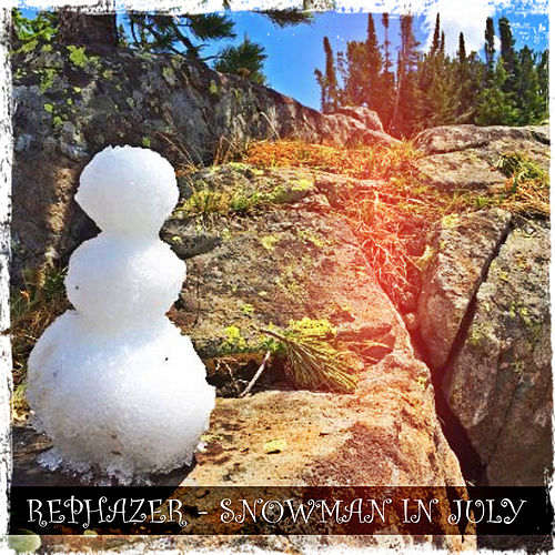 Snowman In July by Rephazer