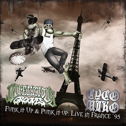 Funk It Up & Punk It Up: Live In France '95 by Infectious Grooves