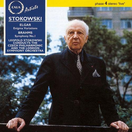 Elgar: Enigma Variations - Brahms: Symphony No. 1 de Leopold Stokowski